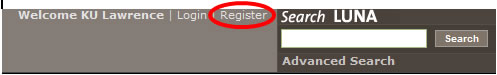 register is circled