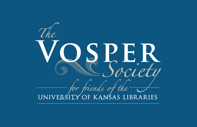 Vosper Society for friends of the KU Libraries