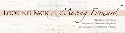 KU Libraries Celebrate the Inauguration of Chancellor Bernadette Gray-Little