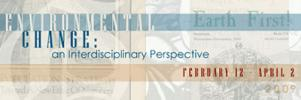 Environmental Change: an interdisciplinary persective