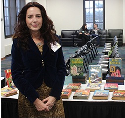 Baiba Sedriks, Graduate Division winner of the 2013 Snyder Book Collecting Contest