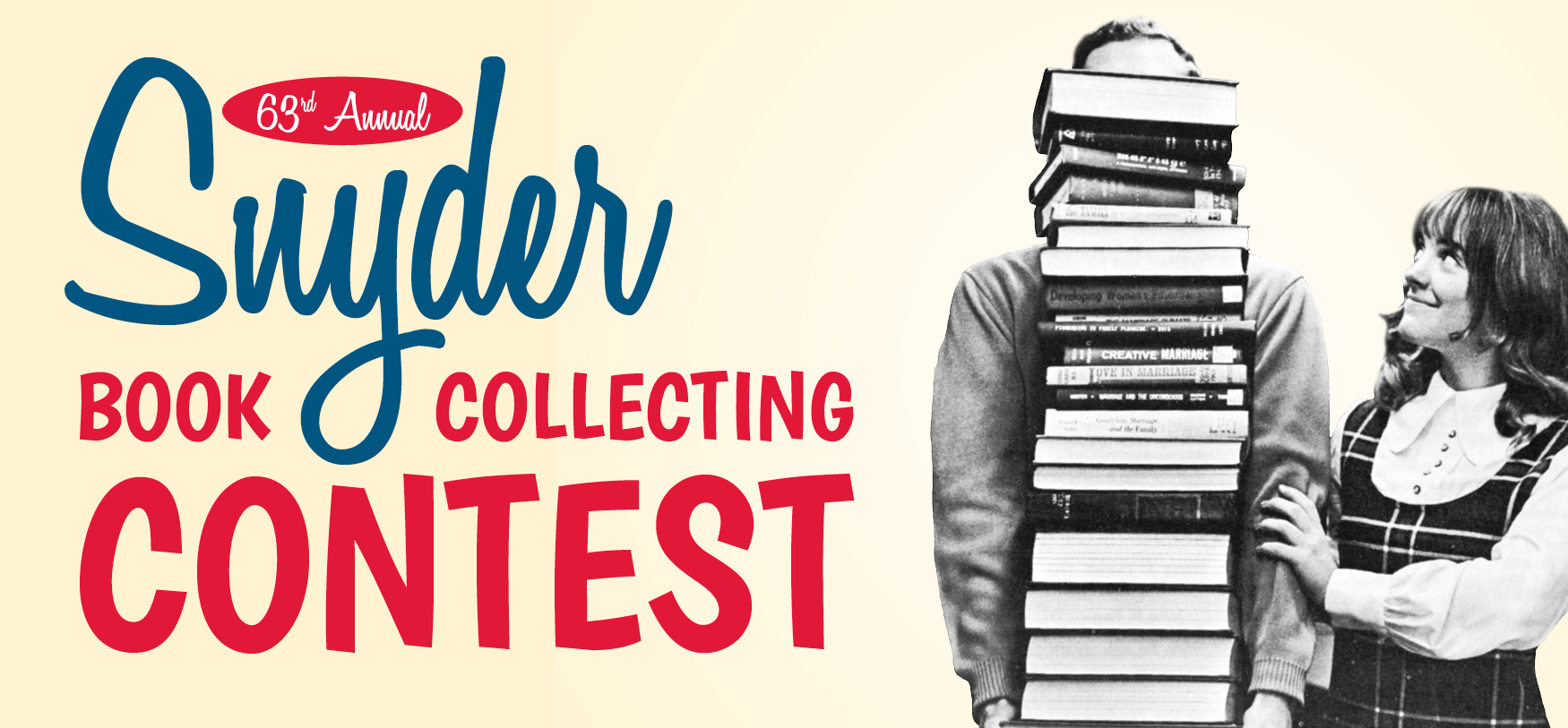 63rd Annual Snyder Book Collecting Contest (display banner)