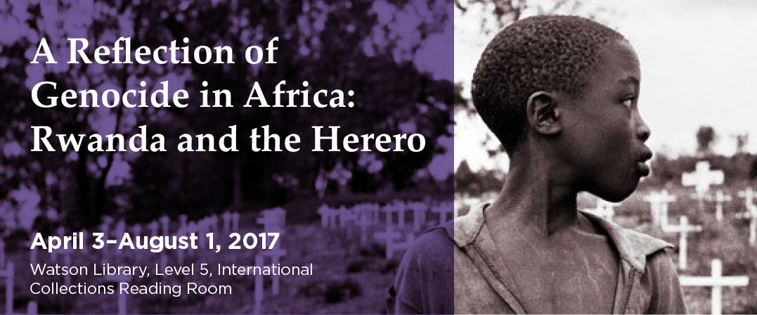 A Reflection of Genocide in Africa: Rwanda and the Herero