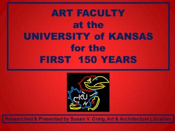 Art Faculty at KU title image