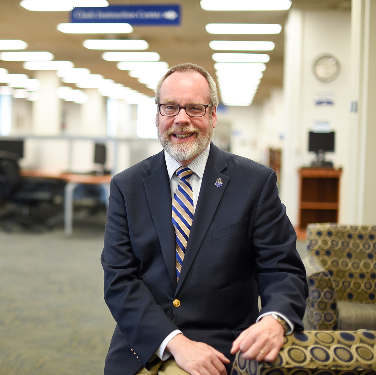 Kevin L. Smith, dean of KU Libraries