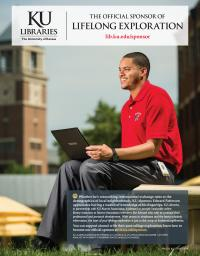 KU Libraries: The Official Sponsor of Breakthroughs (appeared in May 2014 issue of Kansas Alumni magazine)